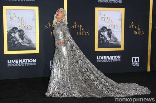 Леди Гага и Брэдли Купер на премьере «Звезда родилась» в Лос-Анджелесе