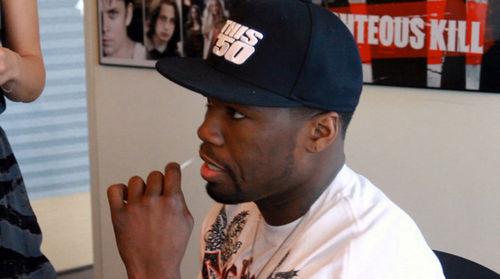 50 Cent стал донором костного мозга