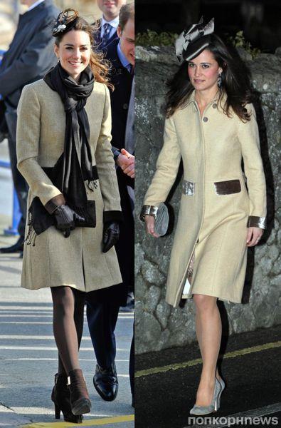 Fashion battle: Кейт Миддлтон и Пиппа Миддлтон