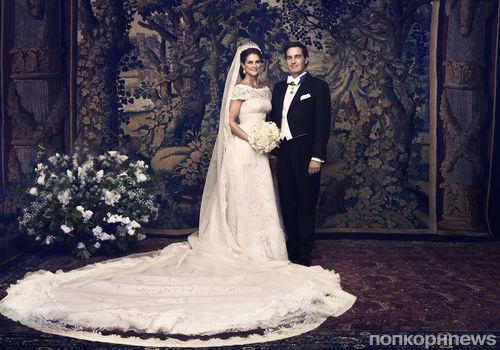 Королевская свадьба. Шведская принцесса Мадлен вышла замуж за американца