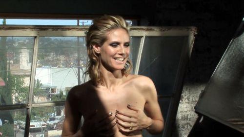 Хайди Клум обнажается для немецкого Vogue