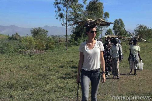 Жизель Бундхен побывала в Кении с благотворительной миссией