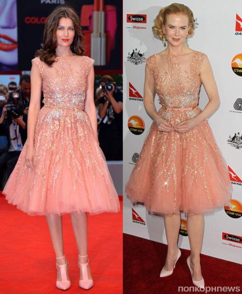 Fashion battle: Летиция Каста и Николь Кидман