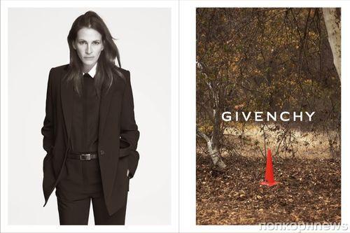 Джулия Робертс в рекламной кампании Givenchy. Весна / лето 2015