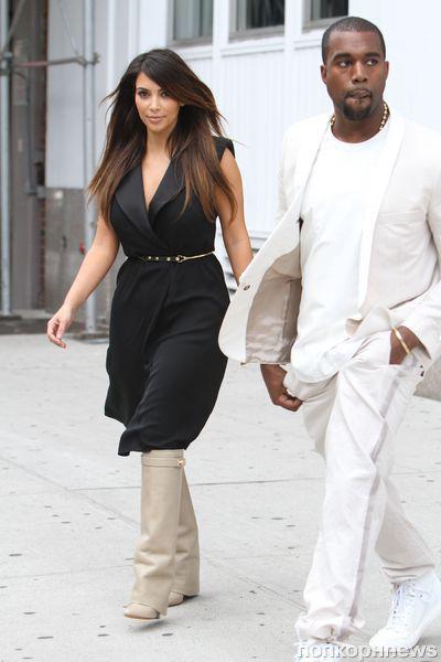 Ким Кардашиан потратила 3,4 тысячи долларов на сапоги