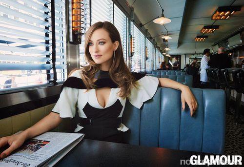 Оливия Уайлд в журнале Glamour. Сентябрь 2014