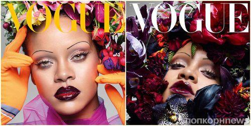 Рианна украсила сентябрьскую обложку британского Vogue