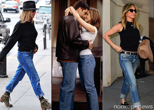 Дженнифер Энистон выпустит коллекцию джинсовой одежды