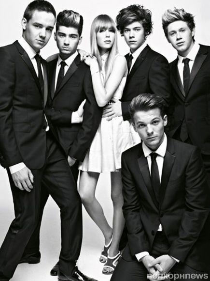 One Direction в журнале Vogue Великобритания. Декабрь 2012