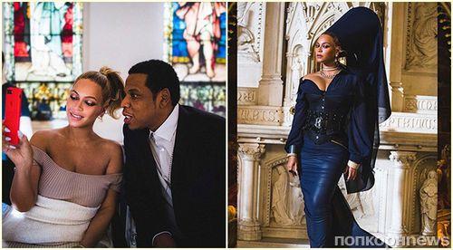 Бейонсе с дочерью снялись в клипе Джей Зи с говорящим названием «Семейная ссора»