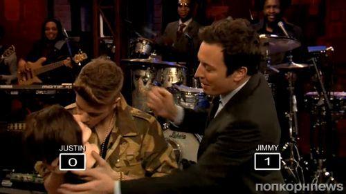 Джастин Бибер на шоу Джимми Фэллона