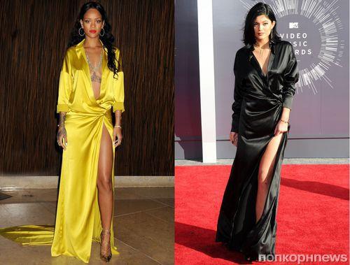Fashion battle: Рианна и Кайли Дженнер