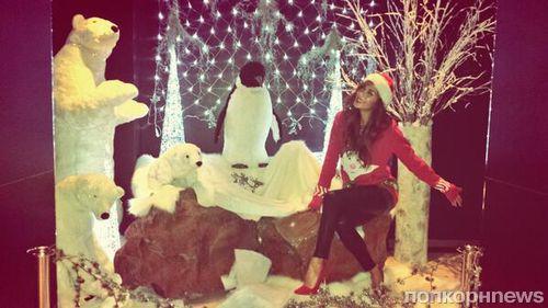 Звезды в социальных сетях: В Питера Фачинелли летит снежок, а Пэрис Хилтон надела ушанку