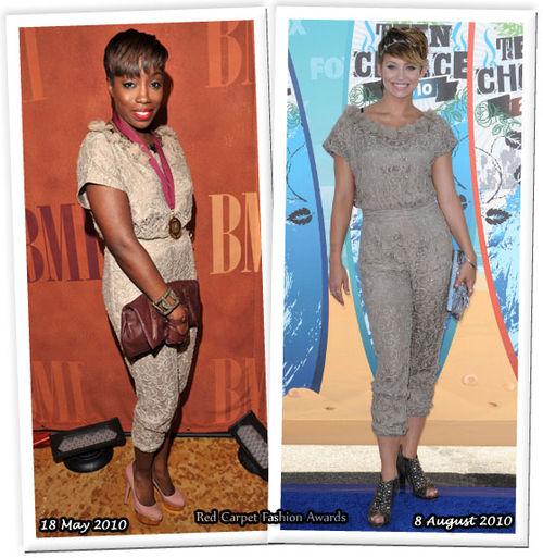 Fashion battle: Эстель и Кимберли Уайат