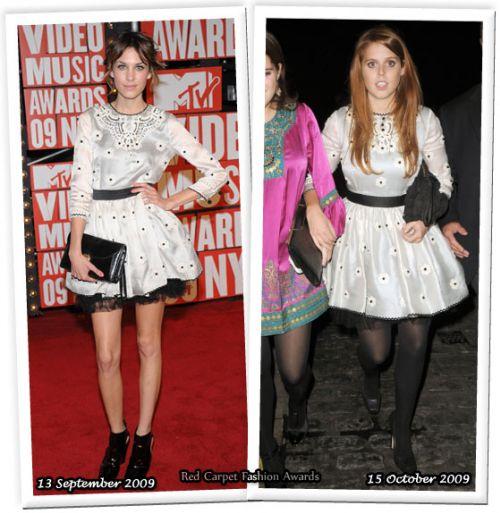 Fashion battle: Алекса Чанг и Принцесса Беатрис