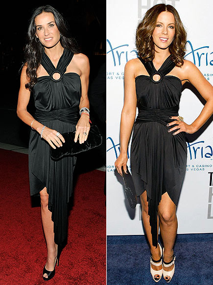 Fashion battle: Деми Мур и Кейт Бекинсэйл