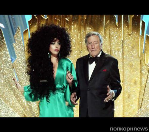 Lady Gaga и Тони Беннетт в рекламной кампании H&M Magical Holidays