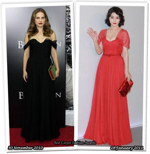 Fashion Battle: Натали Портман и Фан Бинг-Бинг