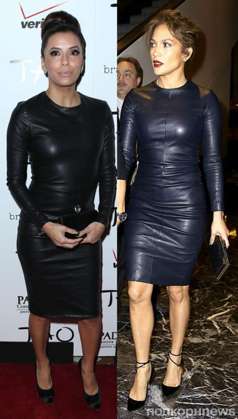 Fashion battle: Ева Лонгория и Дженнифер Лопес
