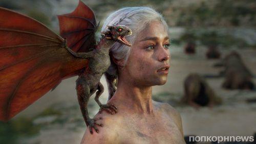 Мать драконов: Эмилия Кларк сделала татуировку с драконами в честь «Игры престолов»