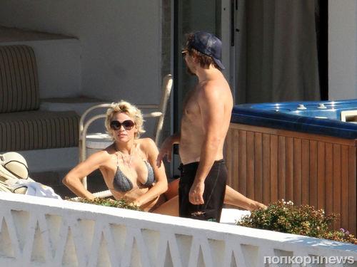 Памела Андерсон и Рик Саломон отдыхают в Италии