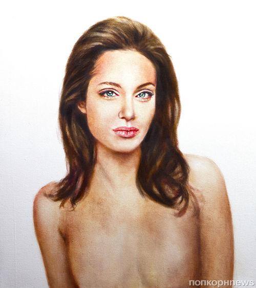 Портрет Анджелины Джоли уйдет с молотка
