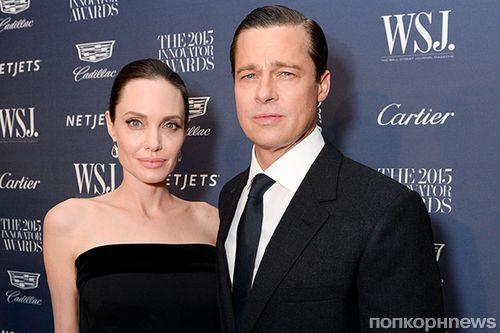 Анджелина Джоли требует у Брэда Питта алименты в размере 100 тысяч долларов ежемесячно
