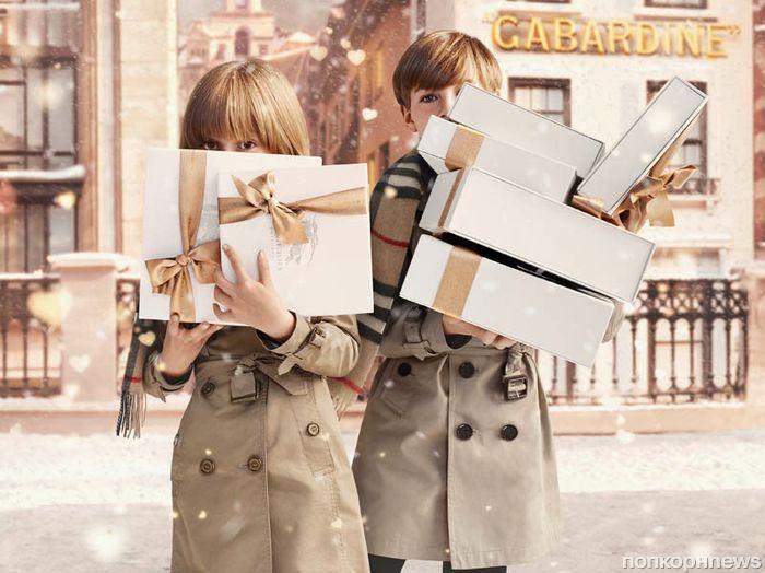 Рождественская рекламная кампания Burberry with Love 2013