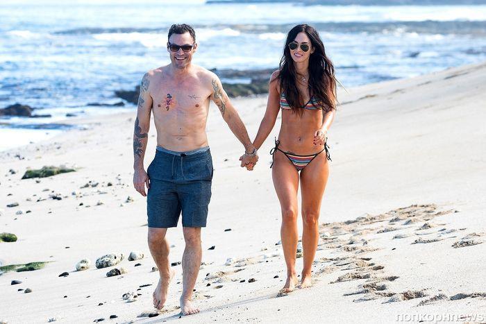 Райский отдых: Меган Фокс и Брайан Остин Грин отправились в романтические каникулы на Гавайи