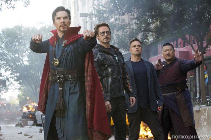 В сеть попало видео неудачных дублей из «Мстителей: Война бесконечности»
