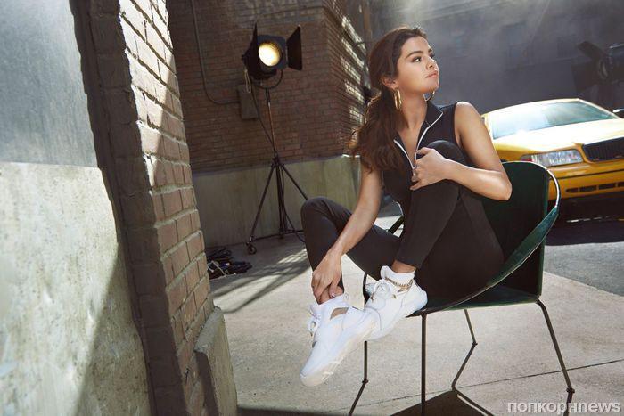 Селена Гомес представила благотворительную коллекцию кроссовок для Puma (фото)