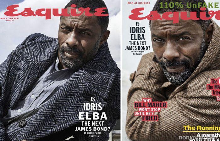 Идрис Эльба снялся для обложки Esquire (август 2017)