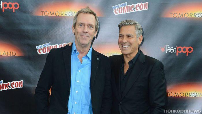 Хью Лори составит компанию Джорджу Клуни в новом сериале