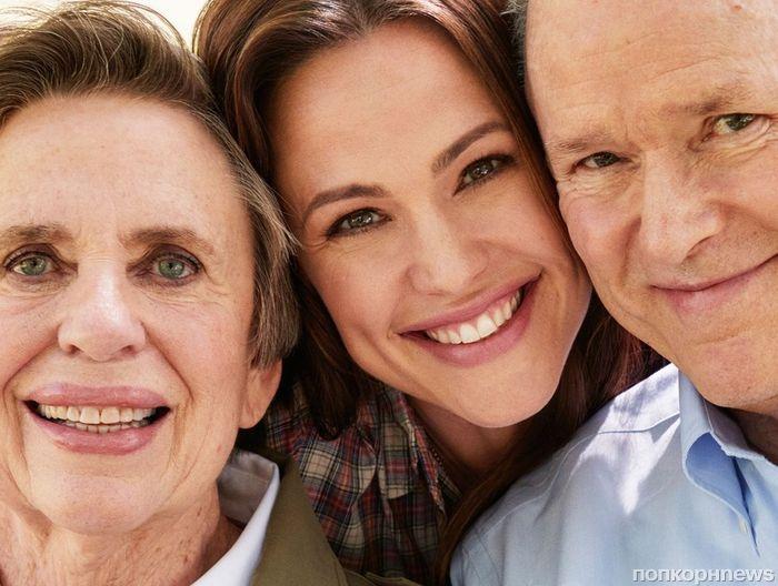Дженнифер Гарнер снялась с родителями в фотосессии для Southern Living