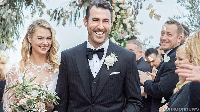 Кейт Аптон поделилась фотографиями со своей свадьбы