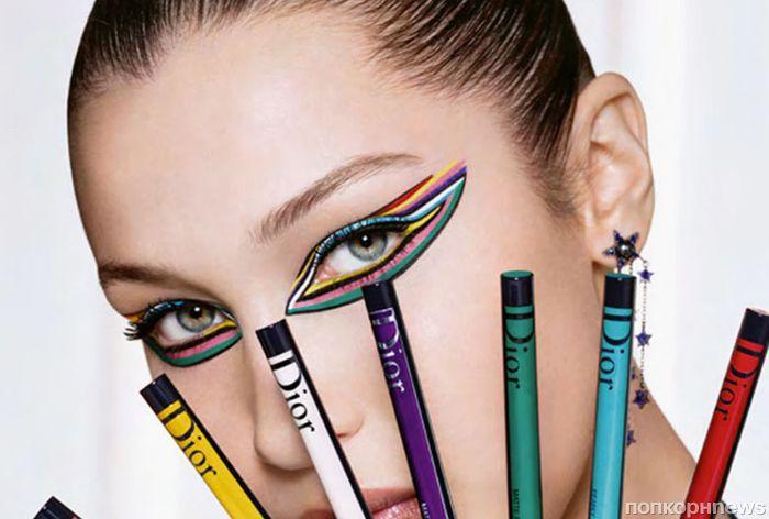 Белла Хадид снялась в рекламе новой коллекции косметики Dior