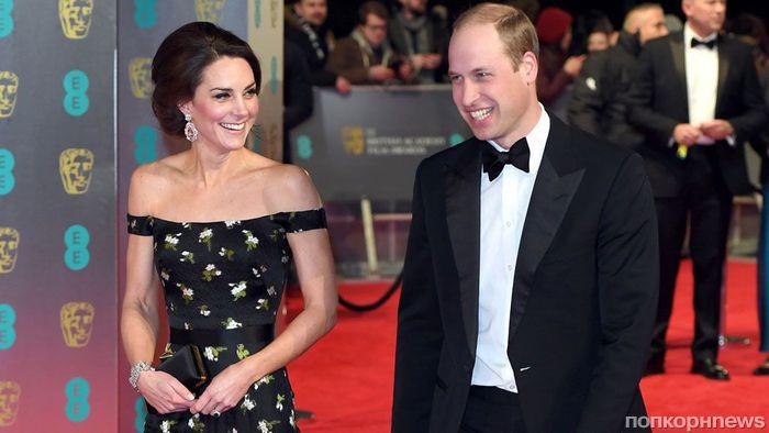 Кейт Миддлтон рискует вызвать гнев киноиндустрии, не надев черное на церемонию BAFTA