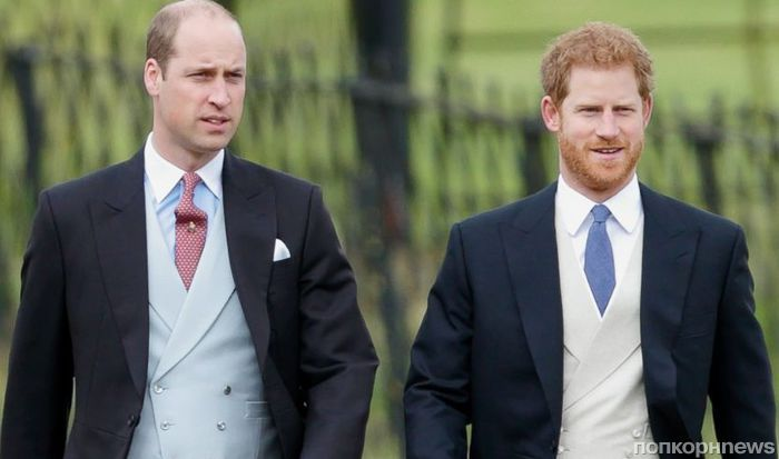 Принц Гарри попросил брата Уильяма стать его шафером