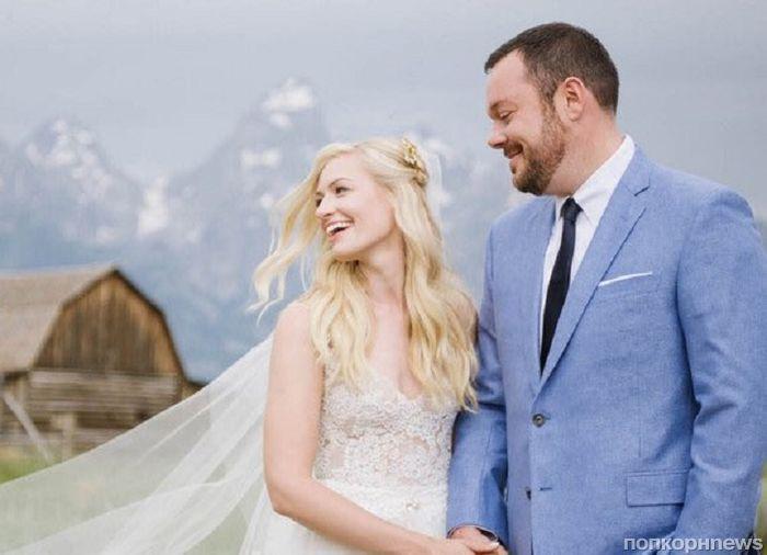 Звезда «Две девицы на мели» Бет Берс вышла замуж