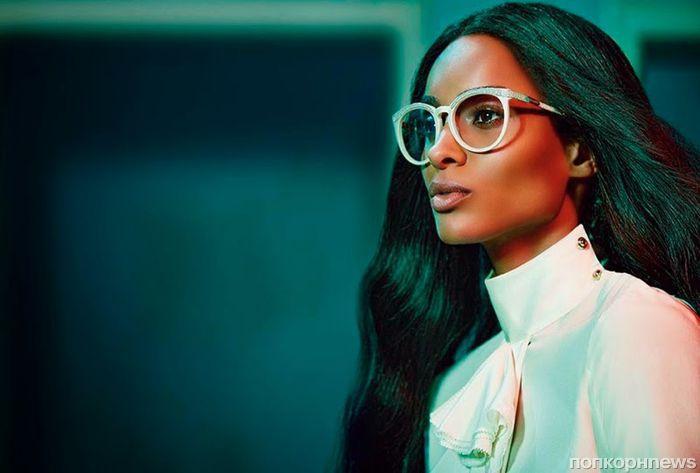 Сиара снялась в рекламной кампании Roberto Cavalli. Осень / зима 2015