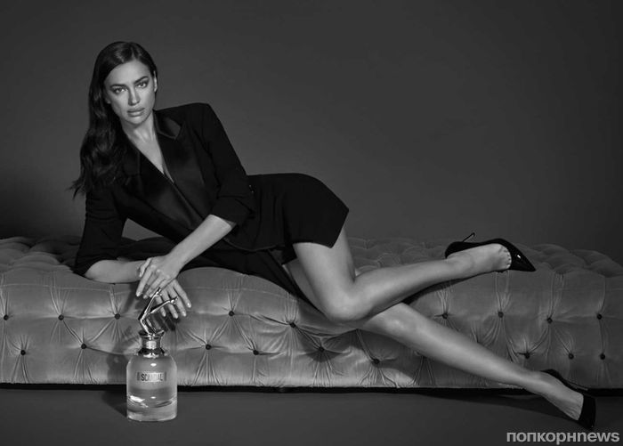 Фото: Ирина Шейк снялась в рекламе культовых духов «Скандал» Jean Paul Gaultier