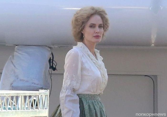 Фото: Анджелина Джоли на съемках приквела «Питера Пэна»