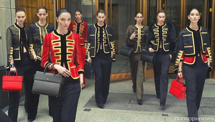 Белла Хадид и Ирина Шейк стали «лицами» рекламы Givenchy осень-зима 2016-17