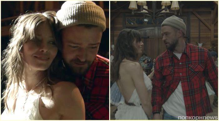 Джастин Тимберлейк и Джессика Бил станцевали в новом клипе Man of the Woods