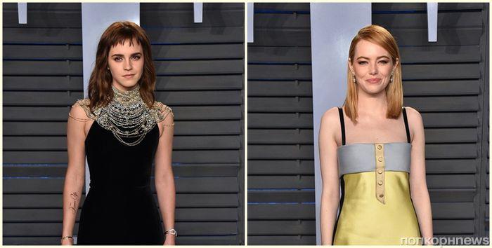 Нина Добрев, Майли Сайрус, Эмма Уотсон и десятки других звезд на афтепати «Оскара» 2018