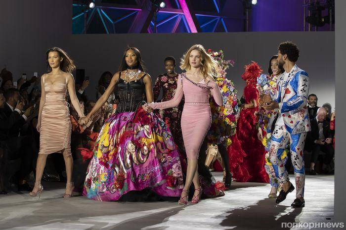 Наоми Кэмпбелл, Наталья Водянова и другие звезды на благотворительном показе Fashion For Relief в Каннах