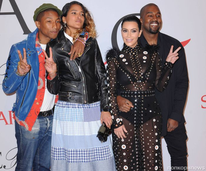 Звезды на церемонии  CFDA Fashion Awards 2015