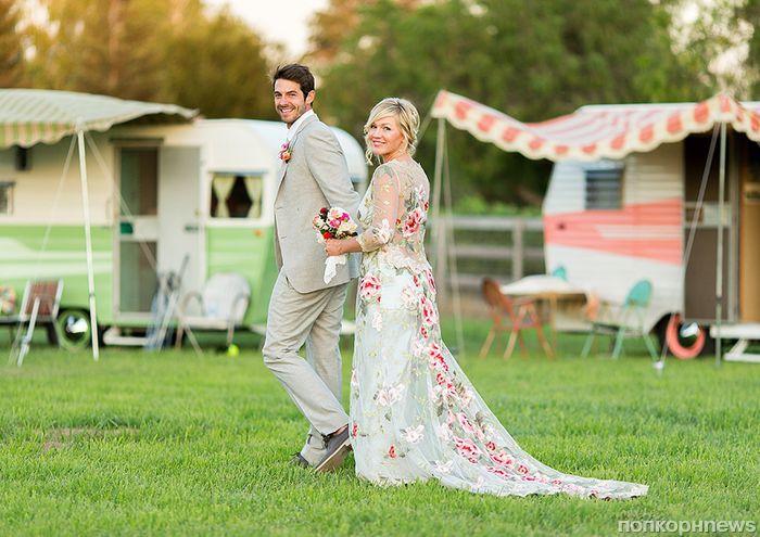 Дженни Гарт показала фото со свадьбы