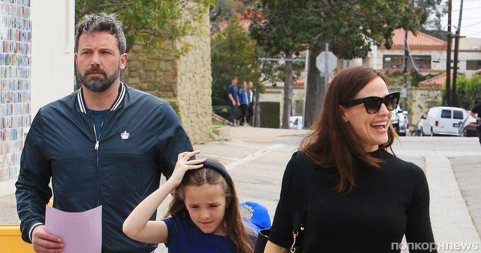 Важнее развода: Дженнифер Гарнер и Бен Аффек провели День благодарения как одна семья