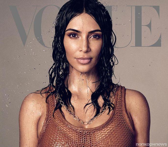 Ким Кардашьян рассказала, что планирует стать адвокатом в новом выпуске Vogue